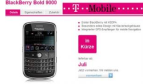 iPhone-Konkurrent: BlackBerry Bold bald bei T-Mobile erhältlich?