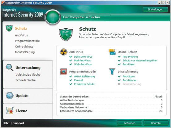 Kauf-Software: Kaspersky Internet Security 2009