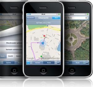 Auf Anordnung der Regierung ohne GPS: Das Apple iPhone 3G in Ägypten.