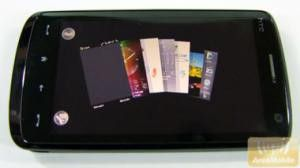 Riesiges Xperia-Feeling: Panels fuer das HTC Touch HD.