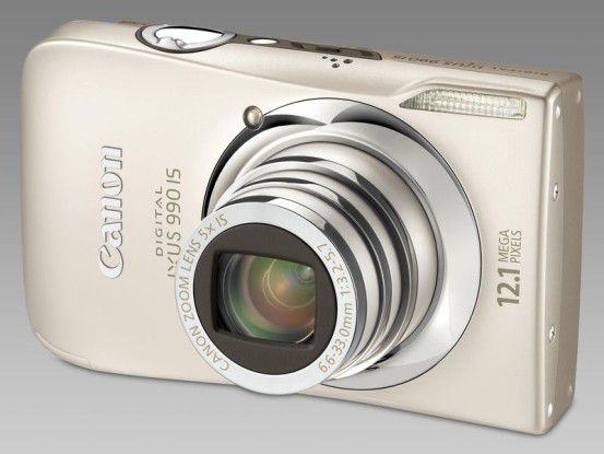 Canon Digital Ixus 990 IS: Klein, kompakt und hochauflösend.