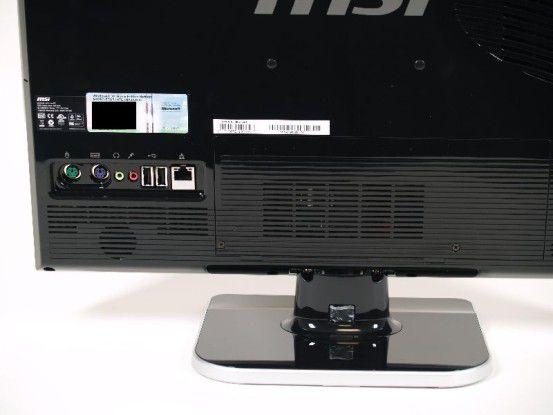 MSI Wind Neton AP1900: zwei PS/2-Buchsen als Besonderheit