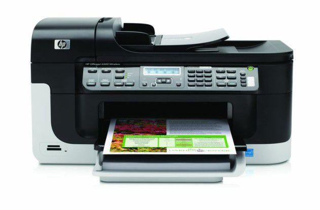 Multifunktionsgerät HP Officejet 6500 Wireless im Test
