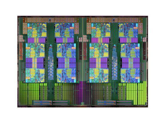 Der AMD-Opteron 6100 findet Einsatz in HP-Servern.