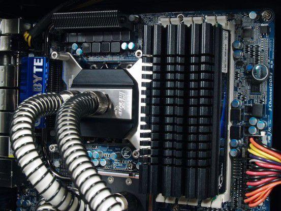 Wasserkühlung beim HE-Computer SupremeEdition 2010
