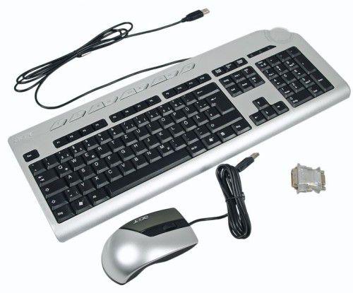Acer Aspire X5950: Eingabegeräte und Adapter
