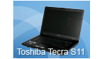 LED-Display, Core i5, DisplayPort: Test - Toshiba Tecra S11 - 15-Zoll-Business-Notebook mit Nvidia-Grafik