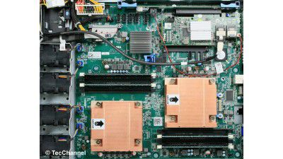 Günstiger Server mit zwei Opteron-CPUs: Test - Rack-Server Dell PowerEdge R415