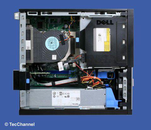 Innereien: Ausreichend Platz für Erweiterungen bietet der Dell OptiPlex 790 SFF.