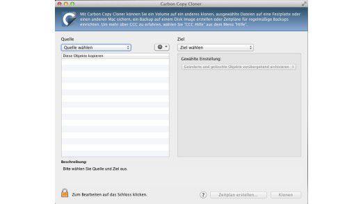 Carbon Copy Cloner: Das Mac-Tool erlaubt das Klonen von Festplatten.