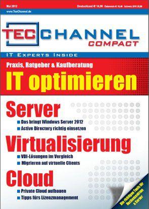 TecChannel Compact 03/2012: 160 Seiten Praxisbeiträge und Grundlagen rund um die Themen Server, Virtualisierung und Cloud.