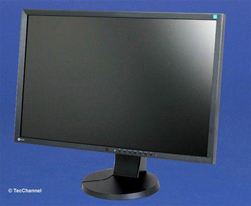 Eizo EV2436W: Das LED-beleuchtete 24-Zoll-IPS-Panel arbeitet mit einer nativen Auflösung von 1920 x 1200 Bildpunkten.