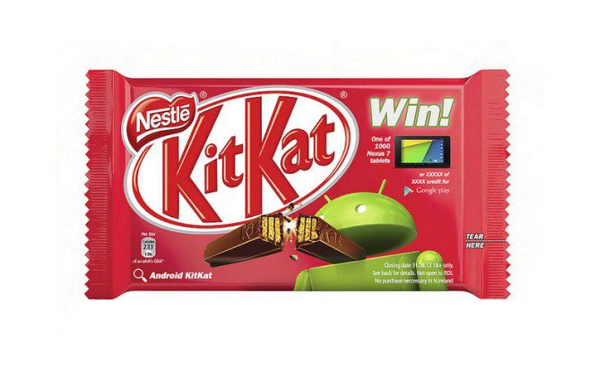 Das Kitkat-Update macht Schluss mit Mogelpackungen.