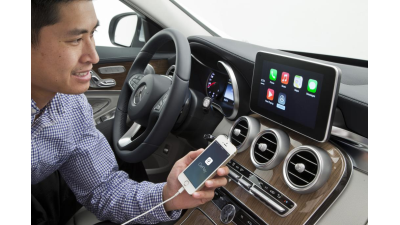 Details zur iOS-Integration im Auto: Apple CarPlay - Ferrari, Mercedes und Volvo zeigen Funktion - Foto: Mercedes-Benz