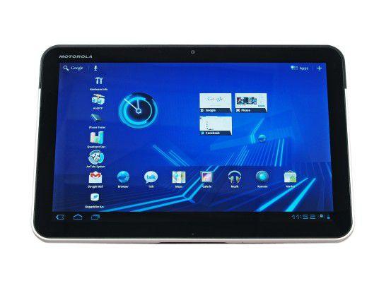 Motorola hat für das Xoom-Tablet ebenfalls ein Upgrade angekündigt.