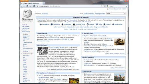 Wikipedia-Einträge zu tagesaktuellen Themen sind kritisch zu betrachten