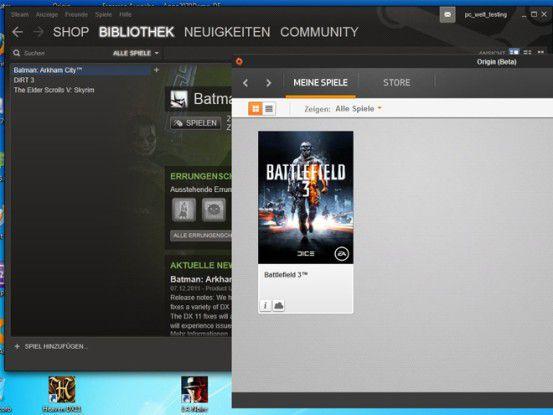 Mit unserer Spielesammlung und Nvidia 3D Vision 2 stürzen wir uns in die Spielewelt.
