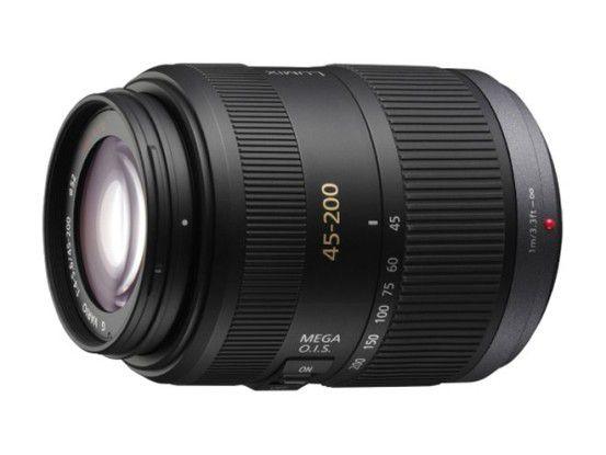 Tele-Zoomobjektiv Panasonic Lumix G Vario 45-200 mm / F4,0-5,6