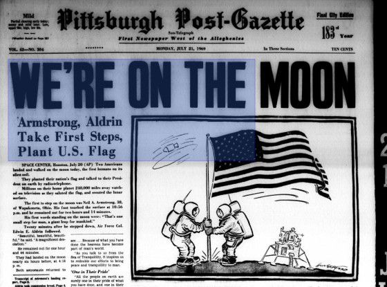 Mit der ersten bemannten Mondlandung hatten die US-Amerikaner im Zeitalter des Kalten Kriegs den Russen einmal den Rang abgelaufen.