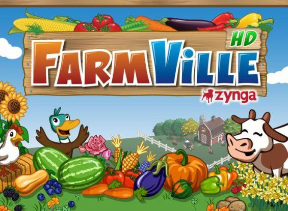 Das Facebookspiel Farmville