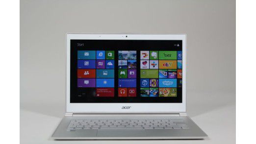 Acer-Ultrabook mit Touch-Display