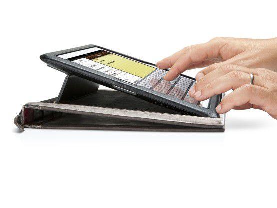 """Auf dem iPad oder anderen Tablets können sich Kunden Informationen selbst """"begreiflich"""" machen."""