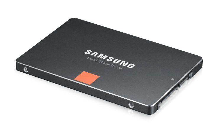 Flaggschiff von Samsung: die Ende 2012 aufgelegte SSD-Serie 840 und 840 Pro.