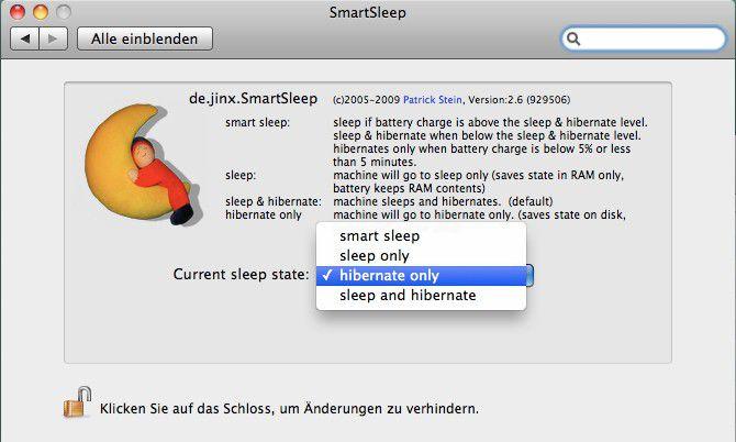 Bei einem SSD-Laufwerk lässt sich mit dem Tiefschlaf zusätzlich Energie sparen, ohne dass das Aufwachen zu lange dauert