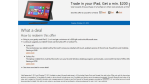 Angebot: Microsoft tauscht iPads gegen Geld um