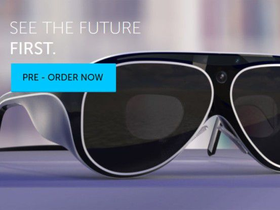 AR-Brille für 3000 Dollar: metaPro