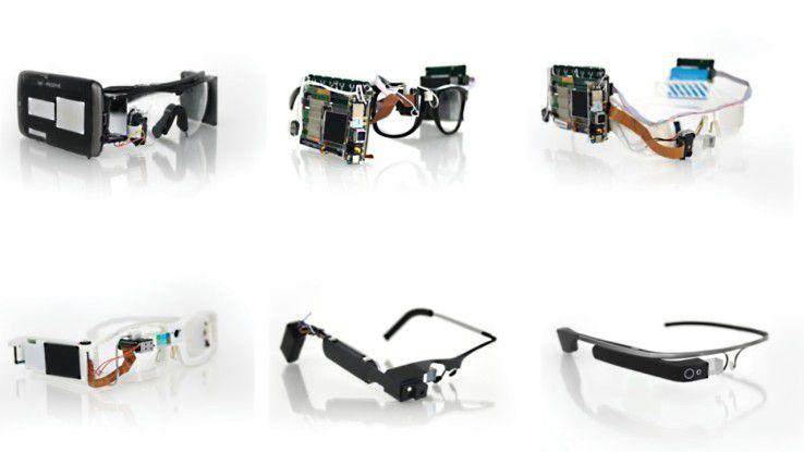 Google Glass durchlief schon viele Entwicklungstufen und wurde vor einigen Monaten ganz neu in Angriff genommen.