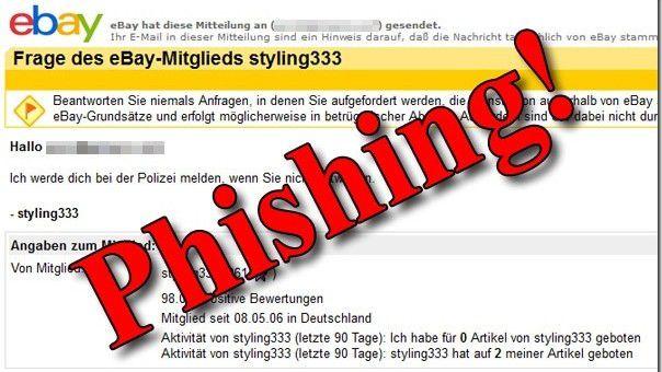 Vorsicht, Phishing!