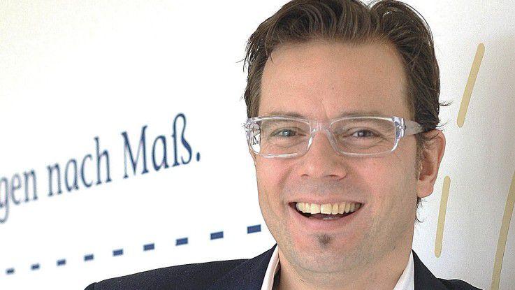 Ralph Friederichs, Geschäftsführer der CYBERDYNE IT GmbH