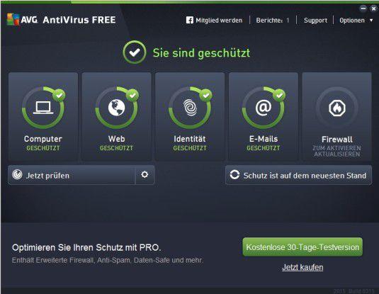 Der kostenlose AVG-Virenscanner kann PCs zuverlässig schützen.
