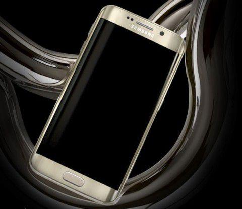 Samsung Galaxy S6 edge: Das neue Smartphone präsentiert sich im edlen Design.