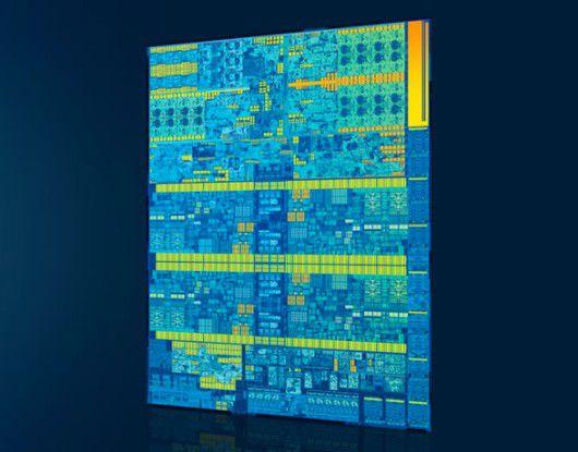 Intel produziert seine neuen Skylake-Prozessoren weiterhin mit 14 nm Strukturbreite, spendiert aber viele neue Features.