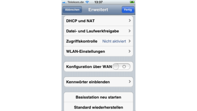 Kritik am eingestellten IPv6-Support : Apples AirPort-Software kann kein IPv6