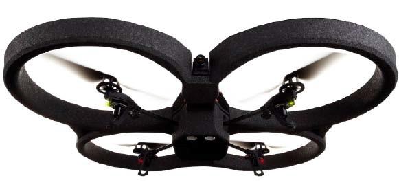 bild quadrocopter mit hd kamera die parrot ar drone 2 0. Black Bedroom Furniture Sets. Home Design Ideas