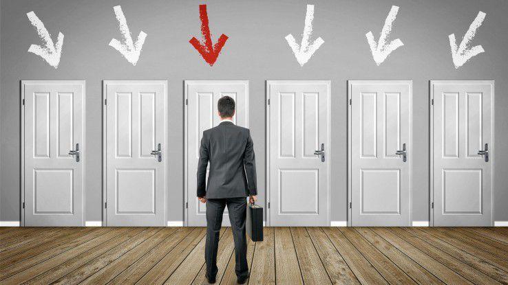 Analytisches Recruiting kann helfen, den passenden Bewerbern die Tür zum eigenen Unternehmen zu zeigen.