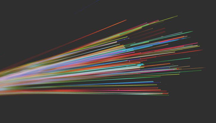 Die Zukunft des Internets basiert auf Glasfasern.