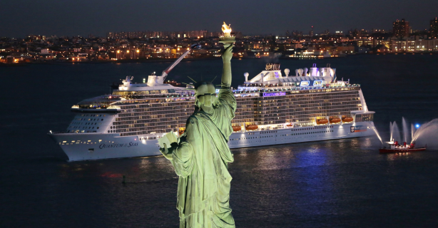 """""""Quantum of the Seas"""" - eine Reportage: Das total vernetzte Kreuzfahrtschiff - Foto: IDG News Service"""