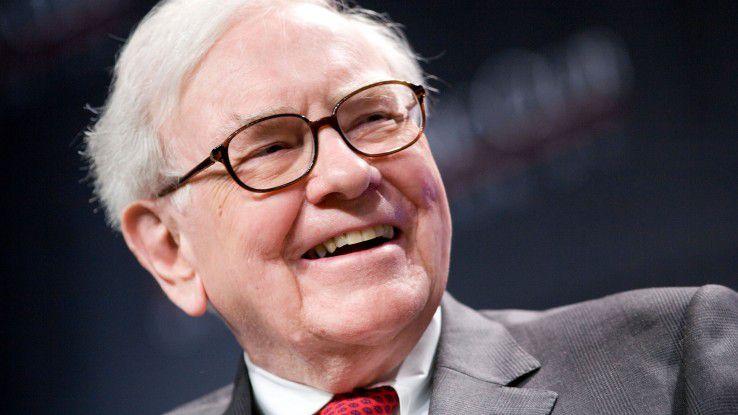 Investorenlegende Warren Buffett - aus bloßer Nächstenliebe ist er nicht im Zeitungsgeschäft.