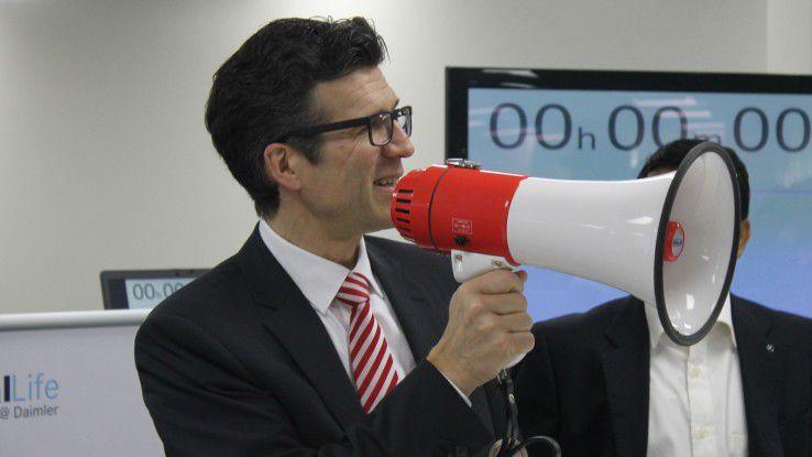 Daimler-CIO Michael Gorriz wird im Herbst 2015 Group CIO und Vorstand bei der Standard Chartered Bank in Singapur.