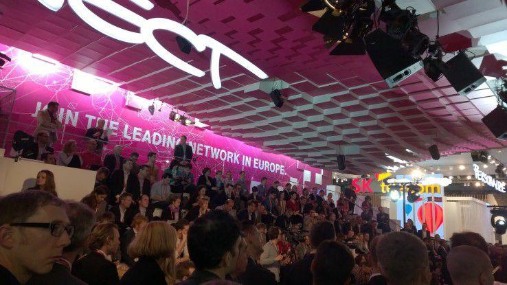 Auf dem MWC in Barcelona gab die Telekom den Startschuss zu ihrem Europa-Netz bekannt.
