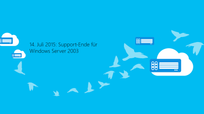 Support-Ende Windows Server 2003: So machen Sie Ihren Server fit für 2015