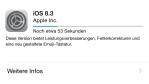 Neue Features und Bugfixes: Apple gibt Update auf iOS 8.3 frei