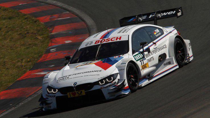 Zum Einsatz kommt das in additiver FErtigung hergestellte Bauteil derzeit im BMW M4 DTM.
