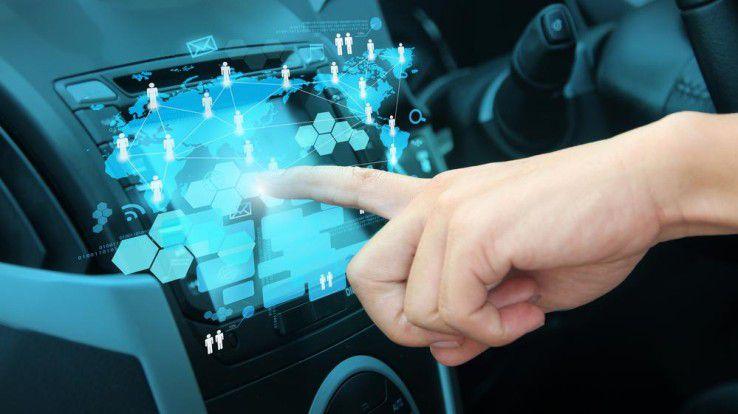 Das Connected Car ist schwer im Kommen - was die Sicherheit angeht, besteht laut einer Studie aber Verbesserungsbedarf.