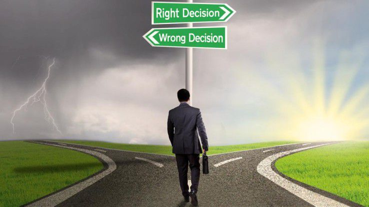 Scheideweg für IT-Entscheider: Als Ja-Sager können Sie mehr zum Geschäftserfolg beitragen.