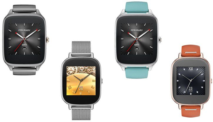 Die Asus Zenwatch 2 kommt in zwei verschiedenen Größen und wird in drei Farben und mit 18 unterschiedlichen Armbändern angeboten.